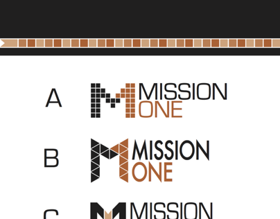 Mission One Motorcycle Logo Design