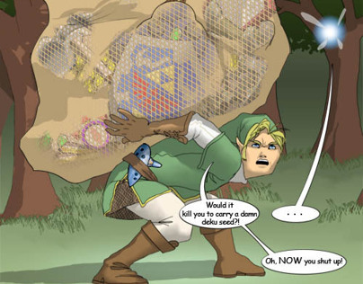 Personal endeavor: Legend of Zelda parody