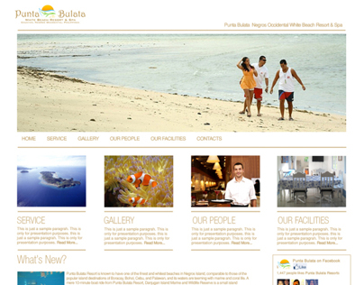 Web Design (sample Template)