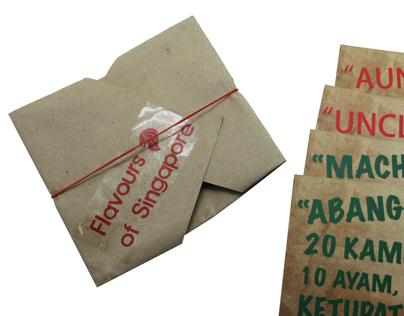 Food Recipe Postcards