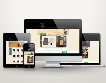 Hartmann Luggage Website