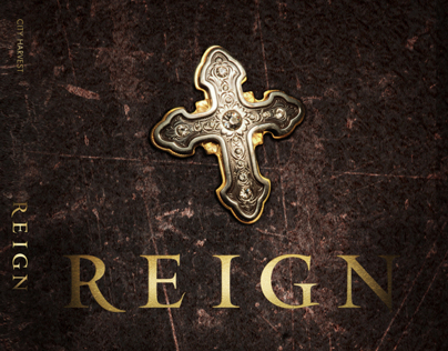Album Design - REIGN - City Harvest Church