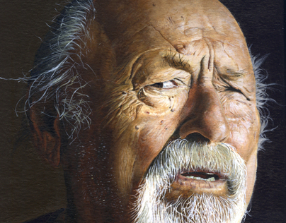 Portrait of Jim Harrison