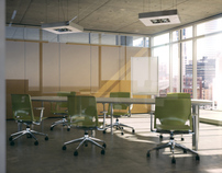 Architectural Renders - Office Interior