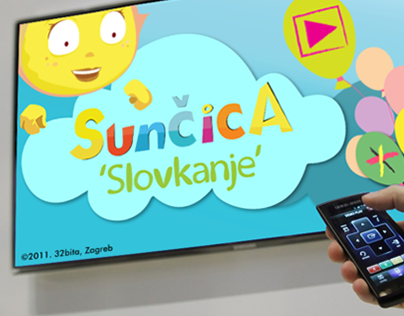 Sunčica App for Samsung Smart TV