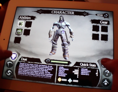 Darksiders II for iPad (UI Concept)