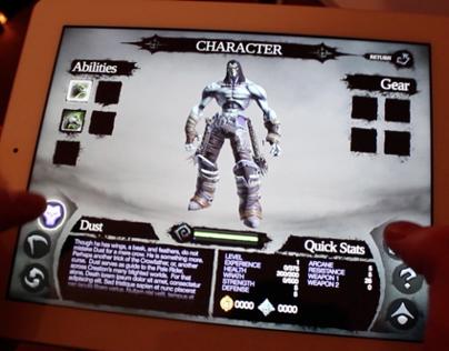 Darksiders II for iPad (UI Concept)