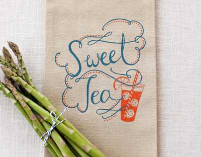 Sweet Tea Towel