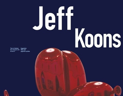 Jeff Koons at the Guggenheim