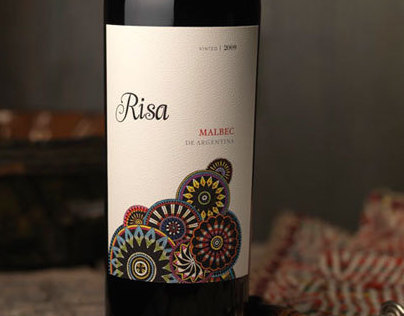 Risa / Wine Label