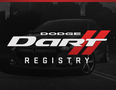 Dodge Dart Registry
