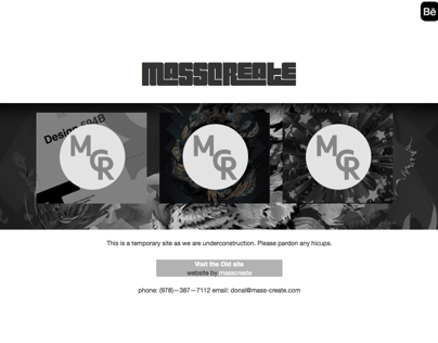 MassCreate (temp.) site launch
