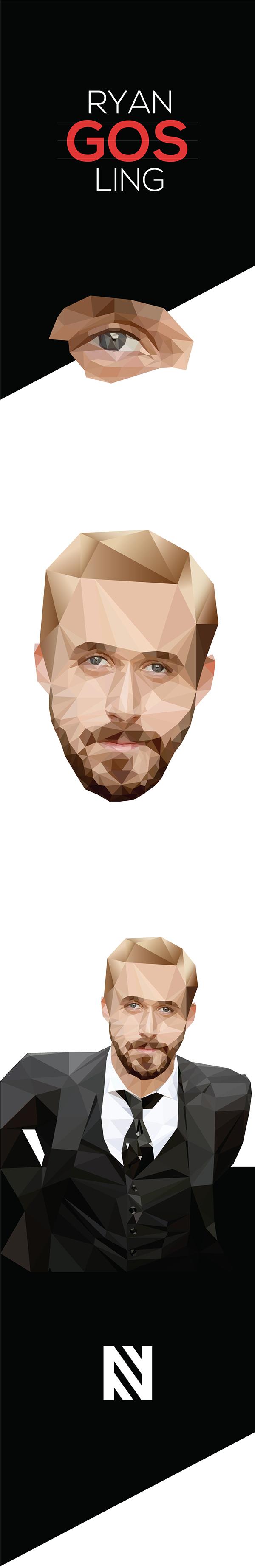 Digital Illustration - Ryan Gosling