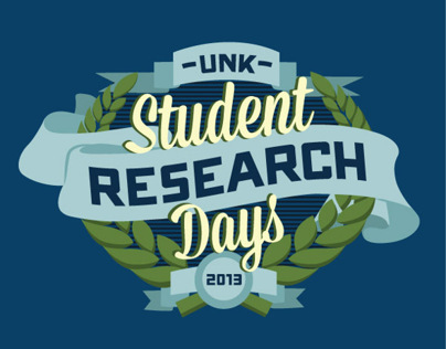 UNK Student Research Days Logo