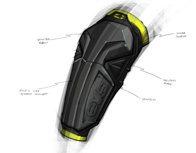 Sleeved Elbow Guard Concepts