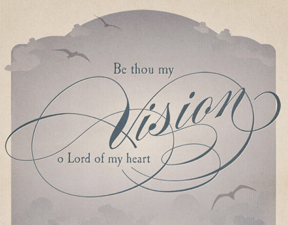 Be Thou My Vision Poster