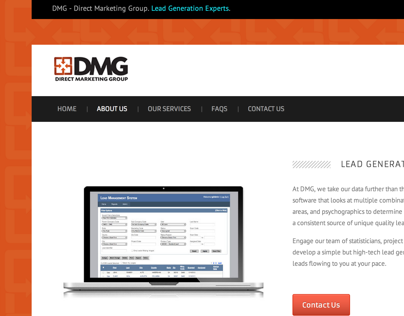 DMG - Direct Marketing Group Collateral & Copy