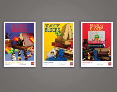 Lego Readers Blocks Posters