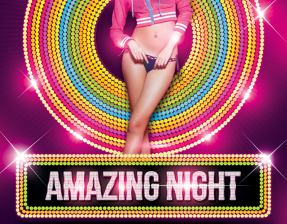 Amazing Night Party Flyer