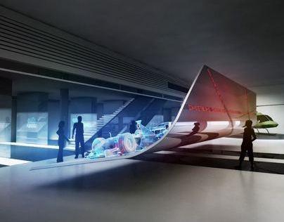 Lualdi Show Room (conceptboard)