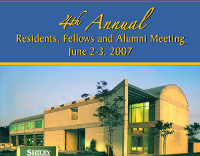 Research Day Program Booklet 2007