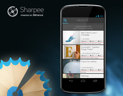 Sharpee - Powered By Behance
