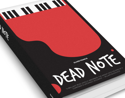 Dead Note - Book Cover Illustration