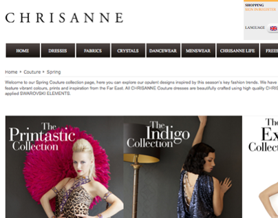 Chrisanne web pages