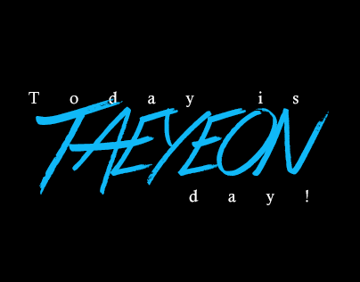 Today is Taeyeon day!