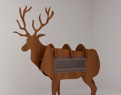 Stag shelves
