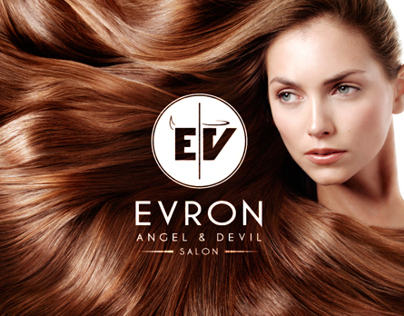 EVRON | Angel & Devil Salon - Brand Identity