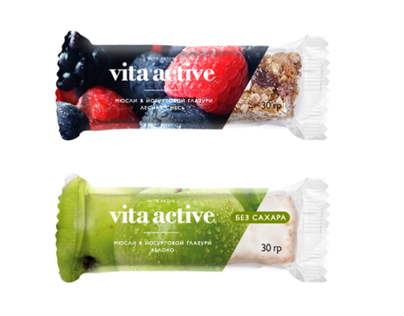 Muesli Bars Vita Active