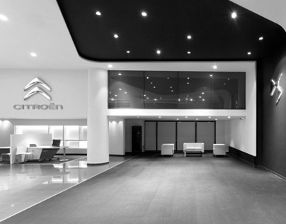 CItroen Showroom in Kifissias Avenue | Greece