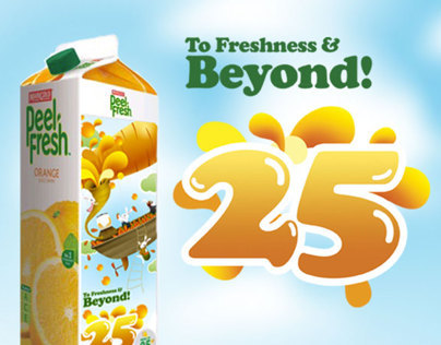 Marigold Peel Fresh 25th Anniversary