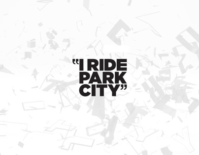 I Ride Park City motion graphics