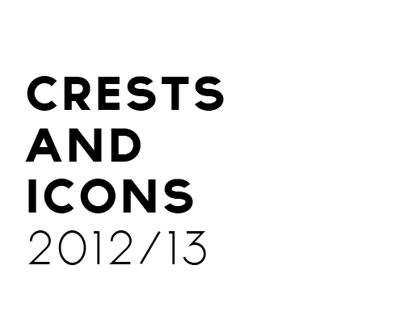 Crests as Icons 2012/13
