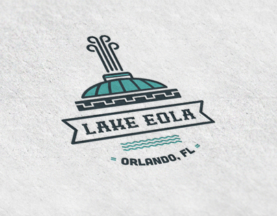 Lake Eola Logo badge