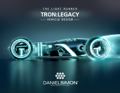 Tron: Legacy | Light Runner Design by Daniel Simon