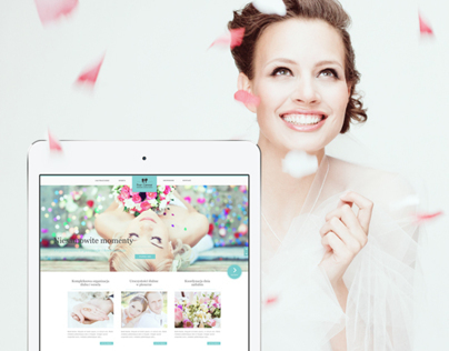 Pour L'amour Wedding Consultants / Web Design