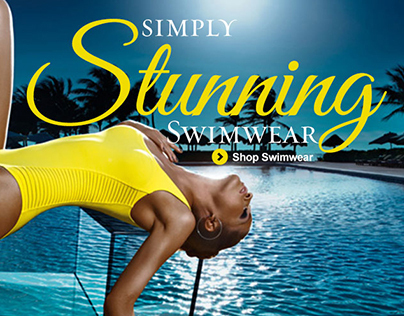 Swimwear Heaven Home Page Banners