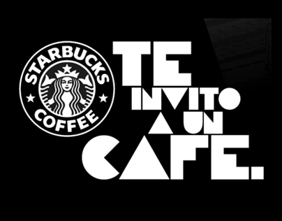 Starbucks te invito a un cafe
