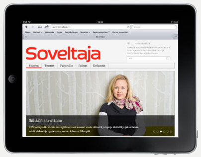 Soveltaja magazine