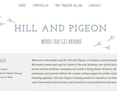 Hill and Pigeon