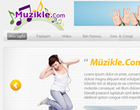 Muzikle.Com Interface Design