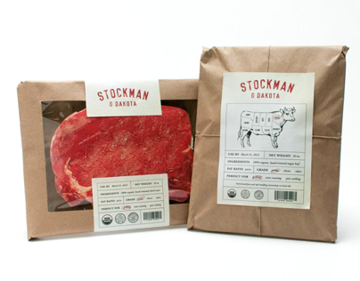 Stockman & Dakota Beef Rebrand