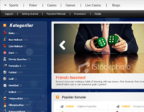Online Betting Sites Interface Design