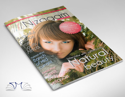 Elegant Template Magazine A4 28 pages