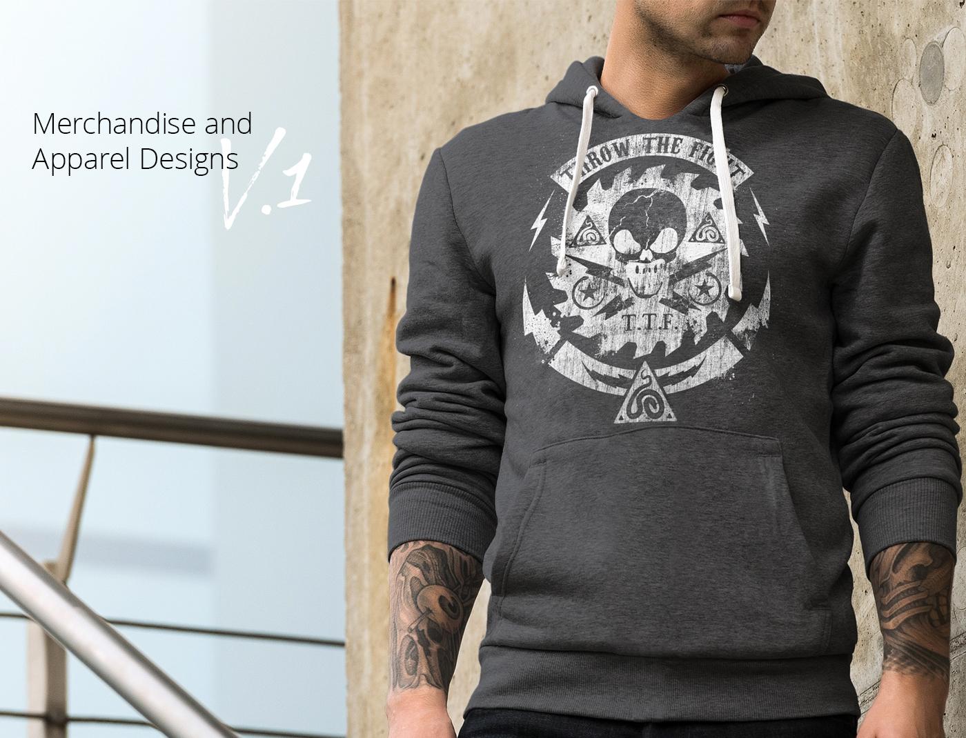 Merchandise & Apparel designs