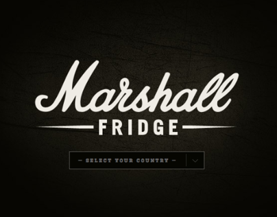 Marshall Fridge. From Purchase Funnel to Front Door.