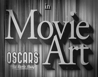 Vintage Movie Typography